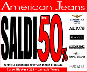 American Jeans ottobre 2016 - cronaca